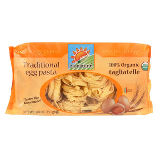 Bionaturae Egg Pasta - Durum Semolina - Case Of 12 - 8.8 Oz.