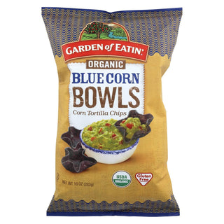 Garden Of Eatin' Blue Corn - Bowls - Case Of 12 - 10 Oz.