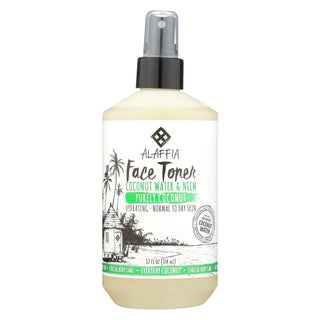 Alaffia - Everyday Face Toner - Purely Coconut - 12 Fl Oz.