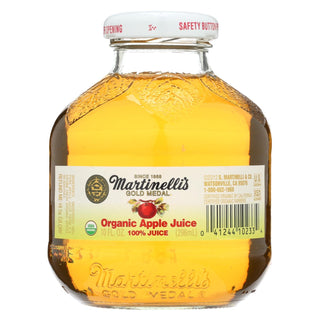 Martinelli's Organic Juice - Apple - Case Of 12 - 10 Oz.