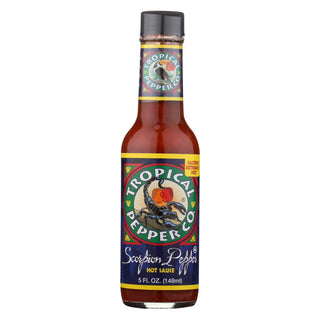 Tropical Pepper Sauce - Scorpion Pepper - Case Of 12 - 5 Fl Oz