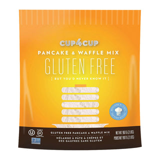 Cup 4 Cup - Gluten Free Baking Mix - Pancake & Waffle - Case Of 6 - 2 Lb.
