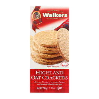 Walkers Shortbread Walkers, Highland Oat Crackers - Case Of 6 - 9.9 Oz