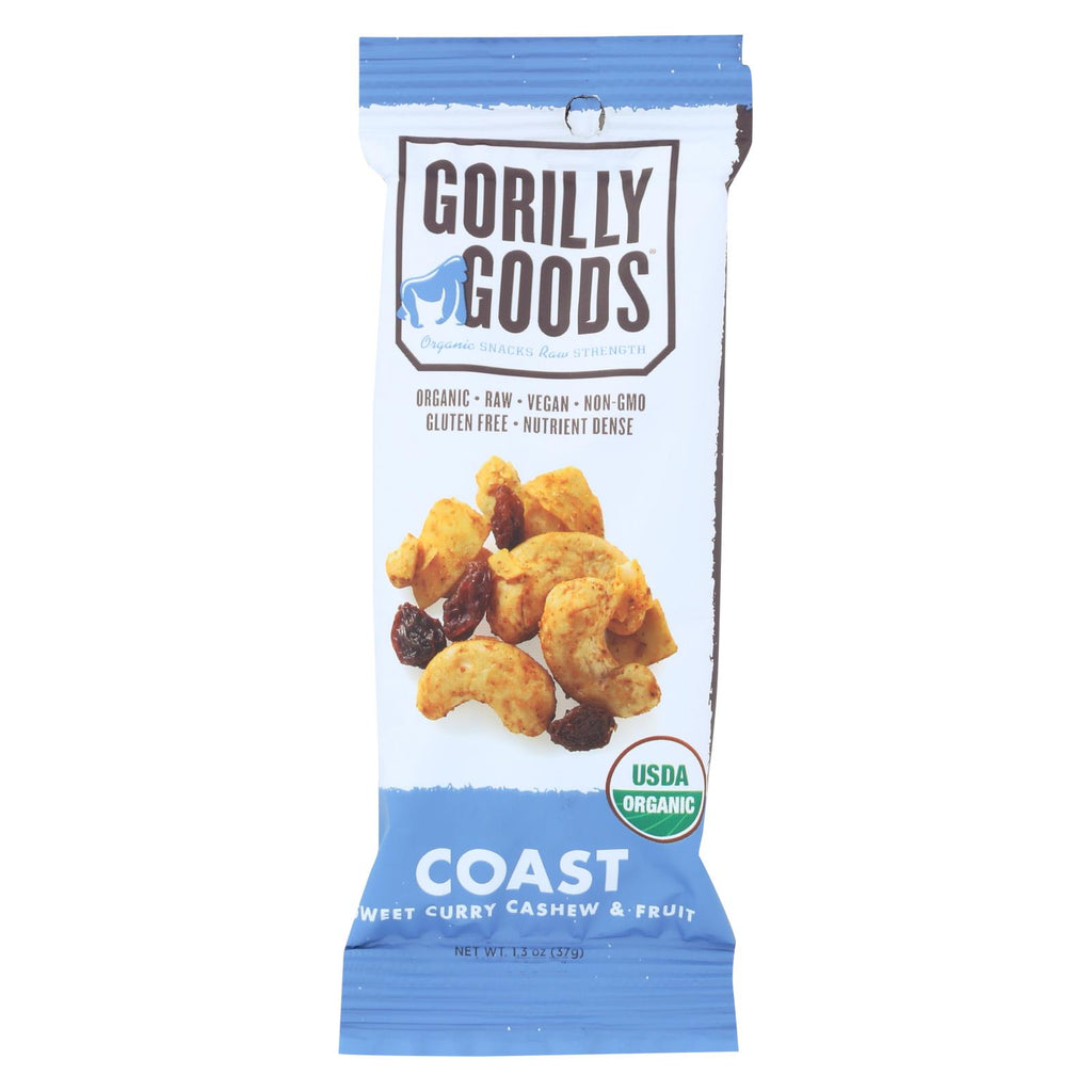 Gorilly Goods Coast - Organic - Stickpack - Case Of 12 - 1.30 Oz