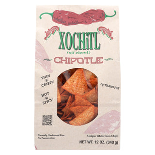 Xochitl Chips - Chipotle - Case Of 10 - 12 Oz