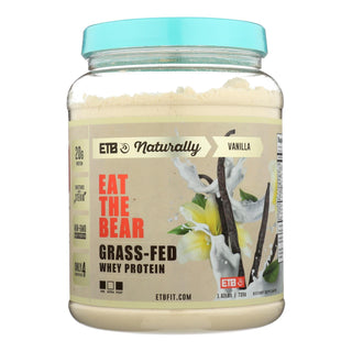 Eat The Bear - Protein Natural Whey Vanilla - 1 Each - 1.6 Lb