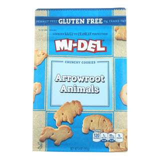 Midel Cookies - Arrowroot Animal - Case Of 8 - 8 Oz