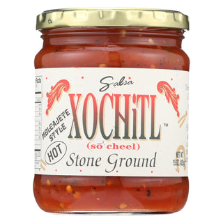 Xochitl - Stone Ground Salsa - Hot - Case Of 6 - 15 Oz.