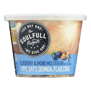 The Soulfull Project Cereal Blueberry Almond  - Case Of 6 - 2.26 Oz