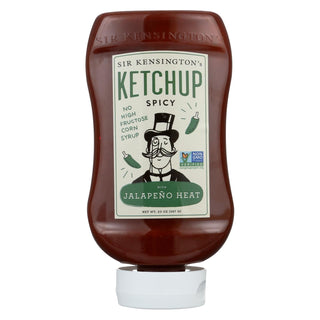 Sir Kensington's Ketchup - Spicy Squeeze Bottle - Case Of 6 - 20 Oz