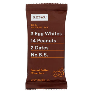 Rxbar - Protein Bar - Chocolate Peanut Butter - Case Of 12 - 1.83 Oz.