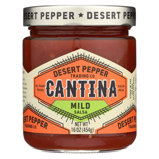 Desert Pepper Trading - Cantina Salsa - Mild - Case Of 6 - 16 Oz
