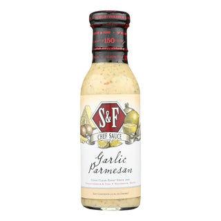 Schlotterbeck And Foss - Garlic Parmesan Sauce- Case Of 6 - 12 Fl Oz.