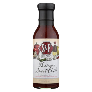 Schlotterbeck And Foss - Thai-ger Swt Chili Sauce - Case Of 6 - 12 Fl Oz.