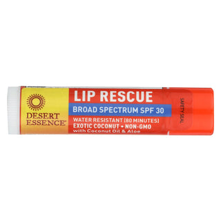 Desert Essence - Lip Balm - Exotic Coconut - Spf30 - Case Of 24 - .15 Oz
