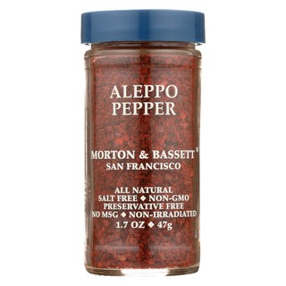 Morton & Bassett Aleppo Pepper  - Case Of 3 - 1.7 Oz