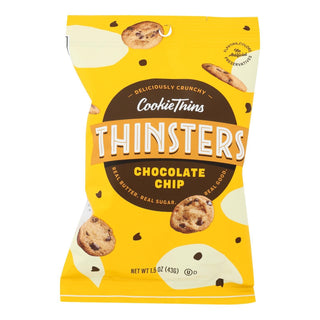 Mrs. Thinster's Cookie Thin - Chocolate Chip - Case Of 8 - 1.5 Oz