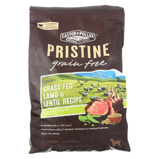 Castor And Pollux - Pristine Grain Free Dry Dog Food - Lamb And Lentil - 10 Lb.