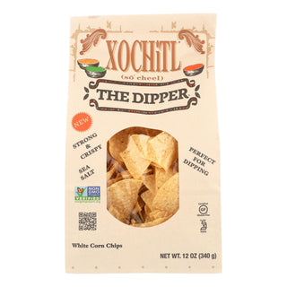 Xochitl Corn Chips - Dipping - Case Of 10 - 12 Oz