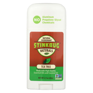 Stinkbug Naturals Deodorant Stick - Tea Tree - 2.1 Oz