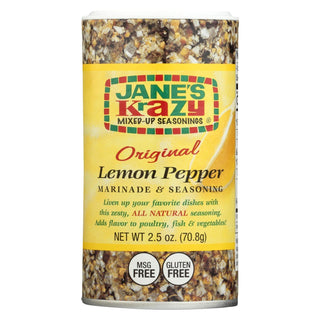 Jane's Marnde - Lemon Pepper - Case Of 12 - 2.5 Oz