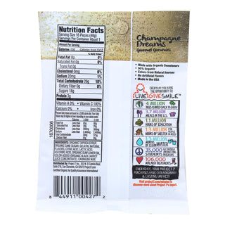 Project 7 Brut & Rose Gourmet Gummies - Case Of 8 - 2 Oz