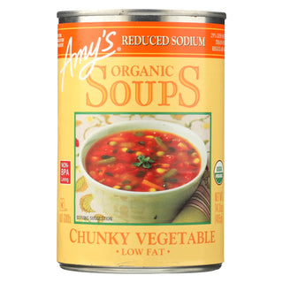Amy's - Soup Organic Chunky Vegetable - Case Of 12 - 14.3 Oz