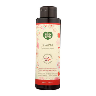 Ecolove Shampoo - Red Vegetables Shampoofor Normal To Oily Hair - Case Of 1 - 17.6 Fl Oz.
