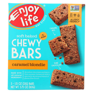 Enjoy Life - Snack Bar - Caramel Blondie - Case Of 6 - 5.75 Oz.
