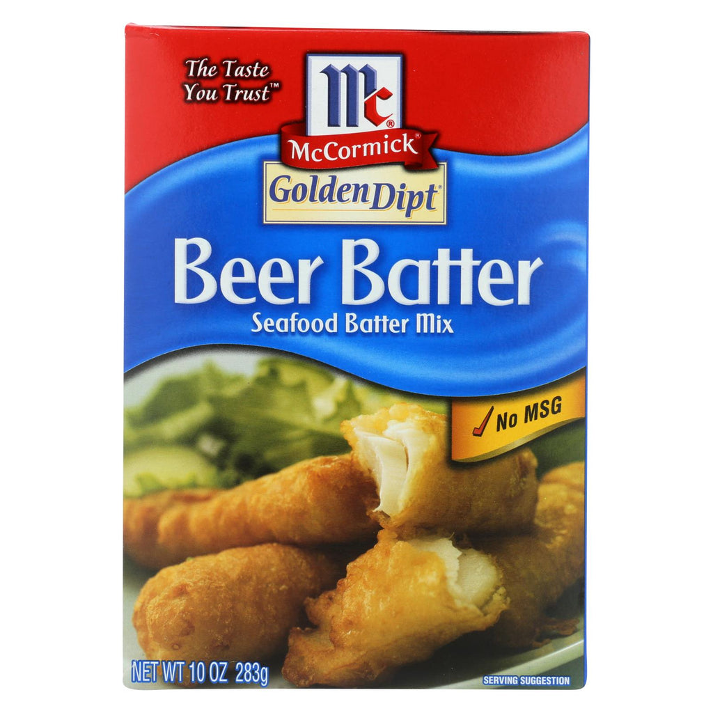Golden Dipt - Breading - Beer Batter - Case Of 8 - 10 Oz.