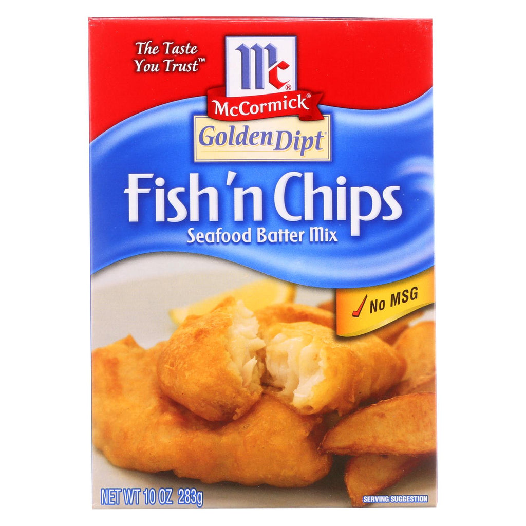 Golden Dipt - Breading - Fish N' Chips - Case Of 8 - 10 Oz.