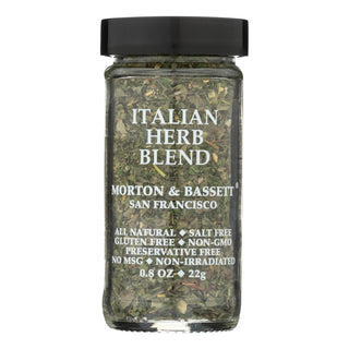 Morton And Bassett Italian Herb Blend - Case Of 3 - .8 Oz