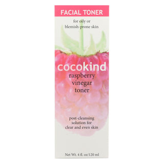 Cocokind Toner - Facial Vinegar Raspberry - 4 Oz