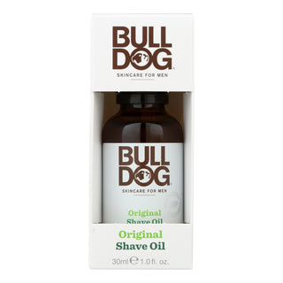 Bulldog Natural Skincare - Shave Oil - Original - 1 Fl Oz