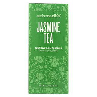 Schmidt's Natural Deodorant Stick - Jasmine Tea - 3.25 Oz