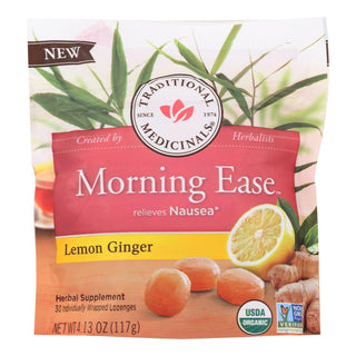 Traditional Medicinals - Lzng Mrn Ease Lemon Gng - 1 Each - 4.13 Oz