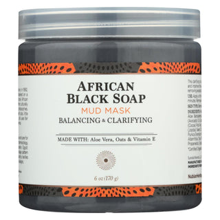 Nubian Heritage Mask - African Black Soap - 6 Fl Oz