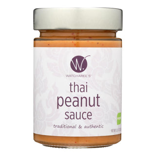 Watcharee's Thai Peanut Sauce  - Case Of 6 - 12.8 Oz