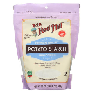 Bob's Red Mill - Potato Starch Gf - Case Of 4-22 Oz