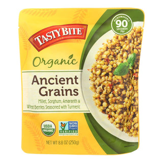 Tasty Bite Organic Ancient Grains - Case Of 6 - 8.80 Oz