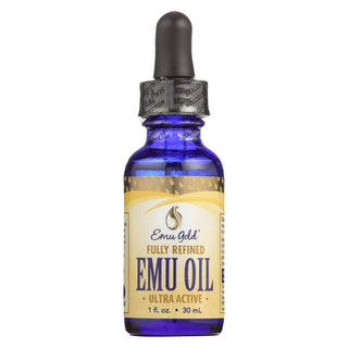 Emu Gold Fully Refined Ultra Active Emu Oil  - 1 Each - 1 Fz