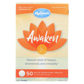 Hylands Homeopathic - Awaken Tablets - 1 Each - 50 Tab