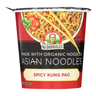 Dr. Mcdougall's Asian Noodle Soup, Spicy Kung-pao  - Case Of 6 - 2 Oz