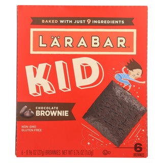 Larabar - Bar Kids Chocolate Brownie - Case Of 8-6-.96 Oz
