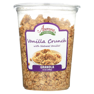 Aurora Natural Products - Vanilla Crunch Granola - Case Of 12 - 14 Oz.