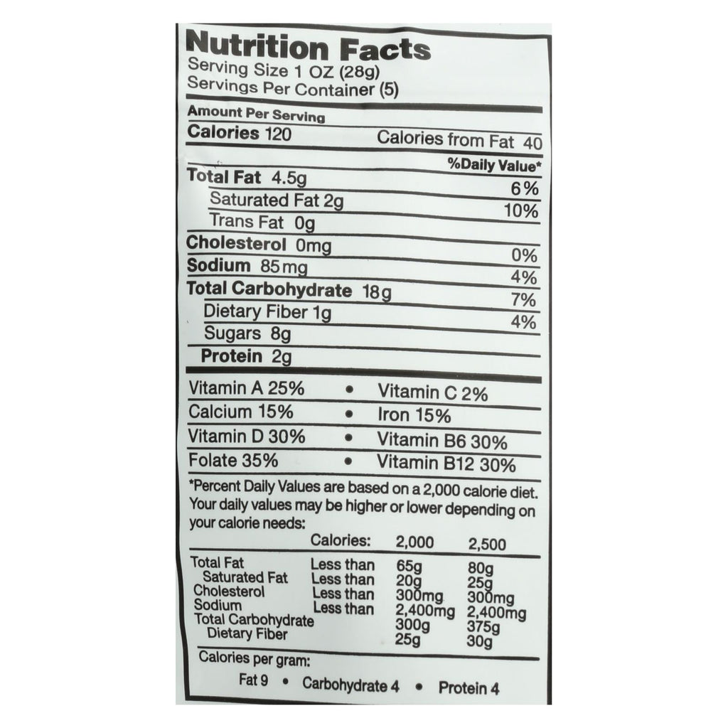 Bitsys Brainfood Cookies Orange Chocolate Beet - Case Of 6 - 5 Oz.