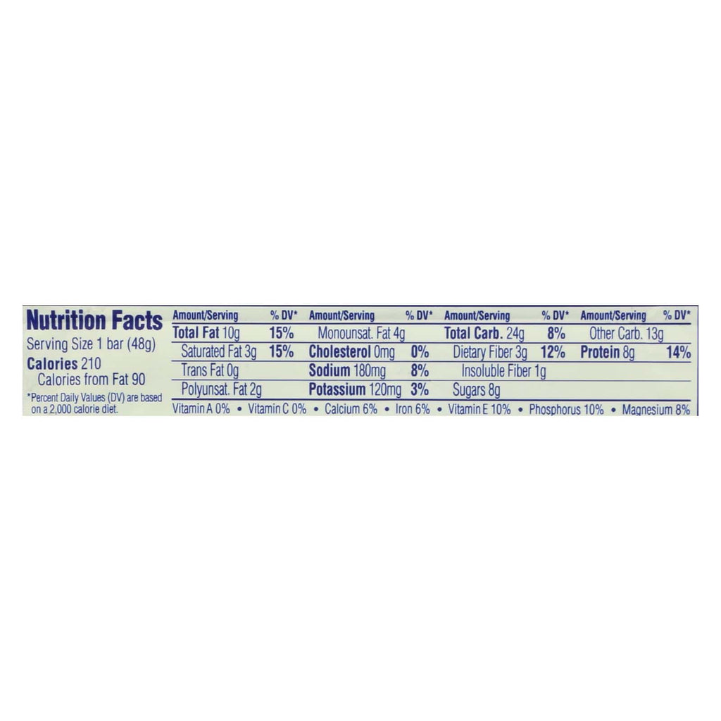 Luna Whole Nutrition Bar - Case Of 15 - 1.69 Oz