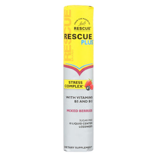 Bach - Rescue Plus Loz Mixed Berry - Case Of 8 - 10 Ct