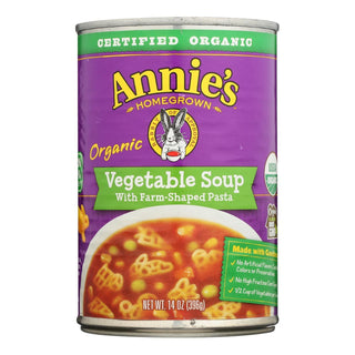 Annie's Homegrown - Organic Soup - Vegetable Soup - Case Of 8 - 14 Oz.