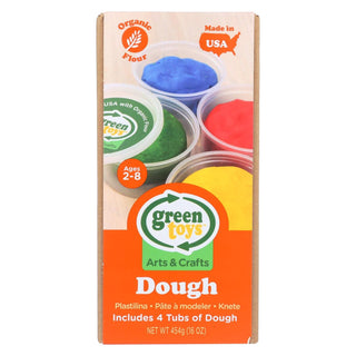 Green Toys - Dough - 4 Pack - 1 Count